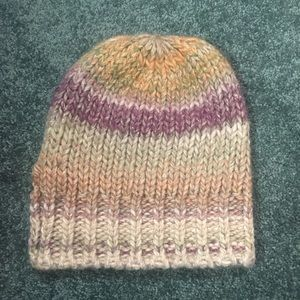 Anthropologie knit beanie